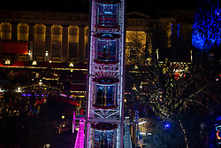 Before the 9pm fireworks from the Scott Monument. Edinburgh's Hogmanay 2019