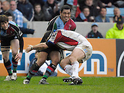 Twickenham, GREAT BRITAIN, Quins Tani FUGA, during the Guinness Premieship match, NEC Harlequins vs Bristol Rugby, at the Twickenham Stoop Stadium, England, on Sat 24.02.2007  [Photo, Peter Spurrier/Intersport-images].....