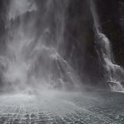 Stirling Falls, Milford Sound, Fiordland National Park, New Zealand