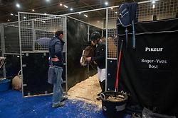 Bost Roger Yves, FRA, Sangria du Coty<br /> Jumping Indoor Maastricht 2017<br /> © Hippo Foto - Sharon Vandeput<br /> 12/11/17