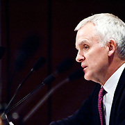 """Commission member Bob Kerrey. Panel: Al Qaeda. The 9/11 Commission's 12th public hearing on """"The 9/11 Plot"""" and """"National Crisis Management"""" was held June 16-17, 2004, in Washington, DC."""