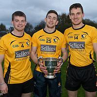 Clonlara's Cillian Fennessy, Oisin O'Brien and John Conlon
