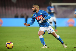 October 28, 2018 - Naples, Naples, Italy - Lorenzo Insigne of SSC Napoli during the Serie A TIM match between SSC Napoli and AS Roma at Stadio San Paolo Naples Italy on 28 October 2018. (Credit Image: © Franco Romano/NurPhoto via ZUMA Press)