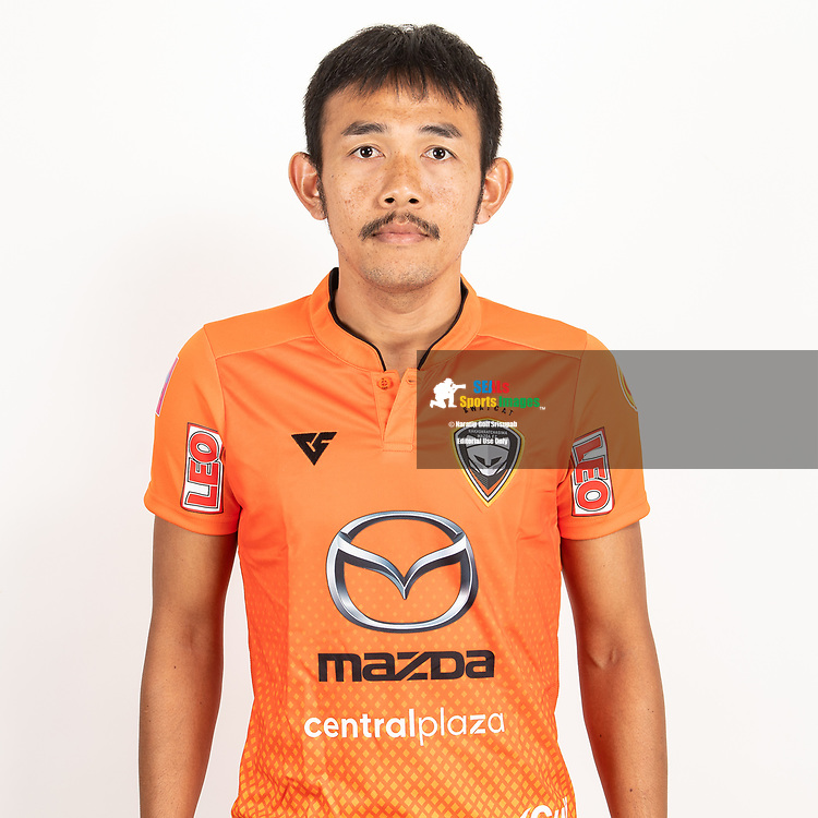 THAILAND - JUNE 25: Pralong Sawandee #32 of Nakhonratchasrima Mazda FC on June 25, 2019.<br /> .<br /> .<br /> .<br /> (Photo by: Naratip Golf Srisupab/SEALs Sports Images/MB Media Solutions)