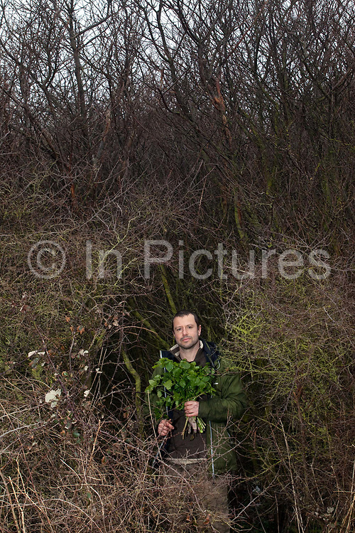 """Fergus Drennan known as 'Fergus the Forgager"""".Fergus Drennan , known as 'Fergus the Forager' is a chef, wild food experimentalist and educator."""