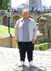 Jacob Batalon attending the Spider-Man: Far From Home Photocall held at the Tower of London.