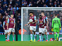 Football - 2020 EFL Carabao (League) Cup Final - Aston Villa vs. Manchester City<br /> <br /> Aston Villa's Tyrone Mings dejected as Manchester City's Rodrigo scores his side's second goal, at Wembley Stadium.<br /> <br /> COLORSPORT/ASHLEY WESTERN