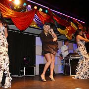 NLD/Amsterdam/20050806 - Gaypride 2005, optreden Vanessa, Mayday, Edwin van der Gun en  en Dennis van der Luijf
