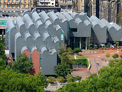 Exterior view of Museum Ludwig in Cologne Germany