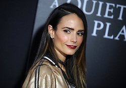 Jordana Brewster attending the 'A Quiet Place' New York Premiere at AMC Lincoln Square Theater on April 2, 2018 in New York City, NY, USA. Photo by Dennis Van Tine/ABACAPRESS.COM