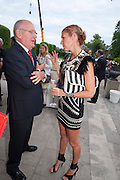 DAVID WATSON; HEIDI MIDDLETON, Alexandra Shulman, Editor of Vogue & Phil Popham, Managing Director of Land Rover<br /> host the 40th Anniversary of Range Rover. The Orangery at Kensington Palace. London. 1 July 2010. -DO NOT ARCHIVE-© Copyright Photograph by Dafydd Jones. 248 Clapham Rd. London SW9 0PZ. Tel 0207 820 0771. www.dafjones.com.