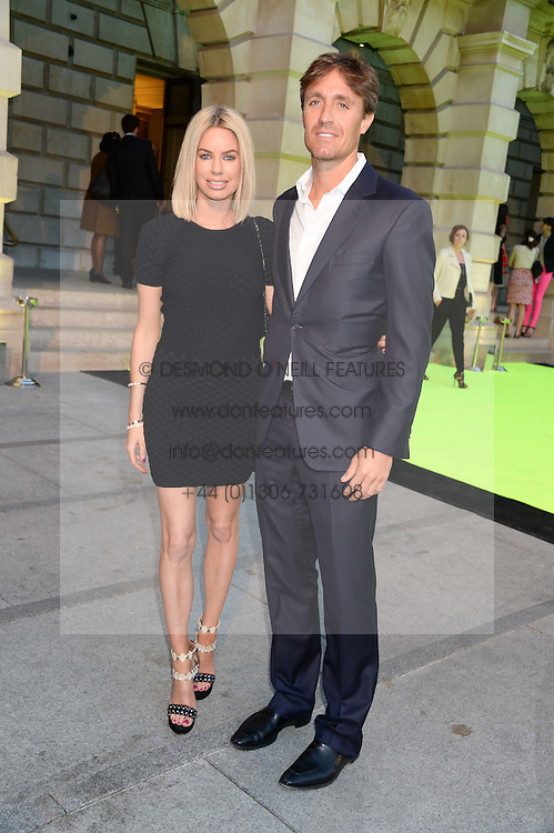 CAROLINE HABIB and JOHN LAWRENCE at the preview party for The Royal Academy Of Arts Summer Exhibition 2013 at Royal Academy of Arts, London on 5th June 2013.