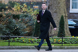 © Licensed to London News Pictures. 19/12/2017. London, UK. Attorney General Jeremy Wright arrives on Downing Street for the weekly Cabinet meeting. Photo credit: Rob Pinney/LNP