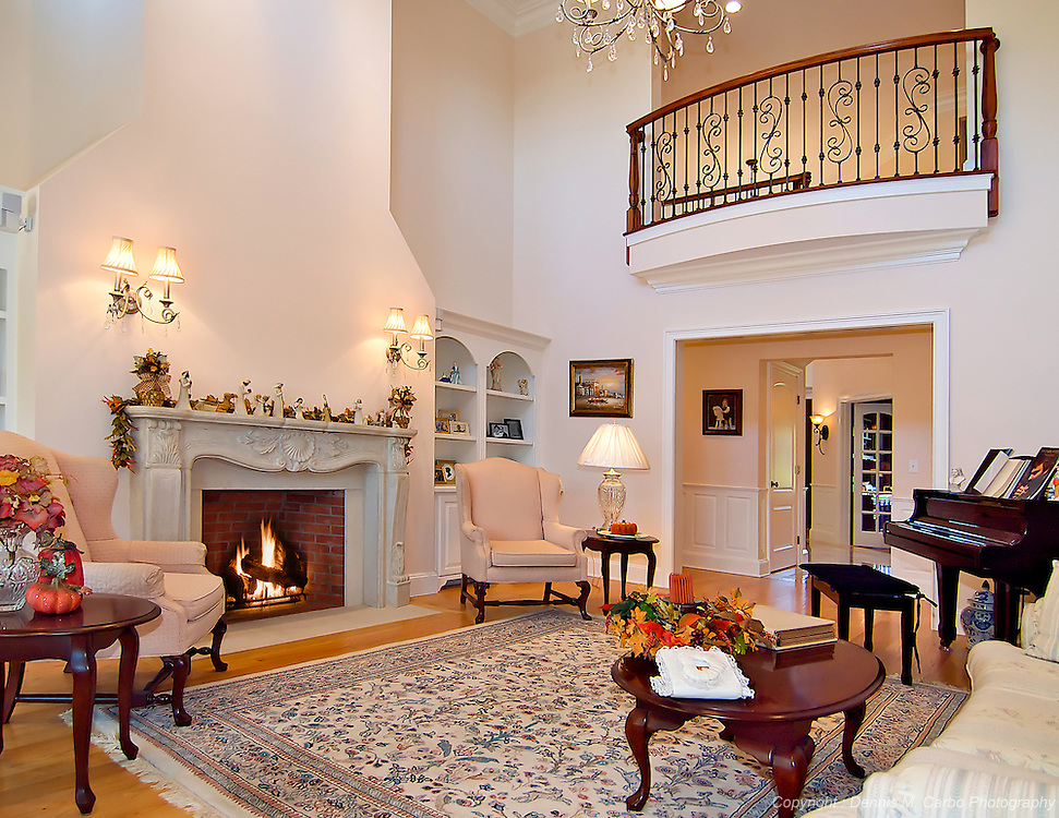 Great Room by Rich Mazzella Builders