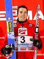 Kombinert<br /> FIS World Cup<br /> Ramsau Østerrike<br /> 15.11.2012<br /> Foto: Gepa/Digitalsport<br /> NORWAY ONLY<br /> <br /> FIS Weltcup, Siegerehrung. Bild zeigt Magnus Moan (NOR)