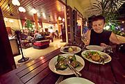 Laos. Luang Prabang. The Apsara boutique hotel and restaurant.