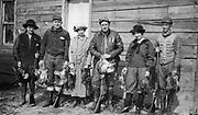 0707-06.  Hunters near Lima Center, Wisconsin.1920s