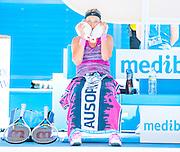 Defending Australian Open champion, Victoria Azarenka of Belarus took on Angnieszka Radwanska of Poland in Day 10 of the Melbourne tournament on Rod Laver Arena's center court. Radwanska triumphed over Azarenka 6-1, 5-7, 6-0 leading her into the semifinals.