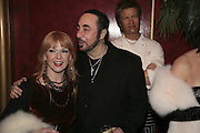 Toya Wilcox and David Gest, Andy and Patti Wong's Chinese New Year of the Pig party. Madame Tussauds. ( Dress Burlesque, Debauched or Hollywood Black Tie. ) London. 27 January 2007.  -DO NOT ARCHIVE-© Copyright Photograph by Dafydd Jones. 248 Clapham Rd. London SW9 0PZ. Tel 0207 820 0771. www.dafjones.com.