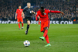 Blaise Matuidi of Paris Saint-Germain shoots - Photo mandatory by-line: Rogan Thomson/JMP - 07966 386802 - 11/03/2015 - SPORT - FOOTBALL - London, England - Stamford Bridge - Chelsea v Paris Saint-Germain - UEFA Champions League Round of 16 Second Leg.