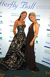 Left to right, model CAPRICE BOURRET and TAMARA BECKWITH at the Butterfly Ball in aid of the NSPCC held at The Intercontinental Hotel, Park Lane, London on 9th September 2005.<br /><br />NON EXCLUSIVE - WORLD RIGHTS