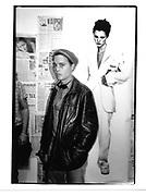 Johhny Depp at a Kate Moss photo exhibit. James Danziger Gallery. New York.© Copyright Photograph by Dafydd Jones 66 Stockwell Park Rd. London SW9 0DA Tel 020 7733 0108 www.dafjones.com