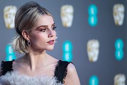 Lucy Boynton attending 72nd British Academy Film Awards, Arrivals, Royal Albert Hall, London. 10th February 2019