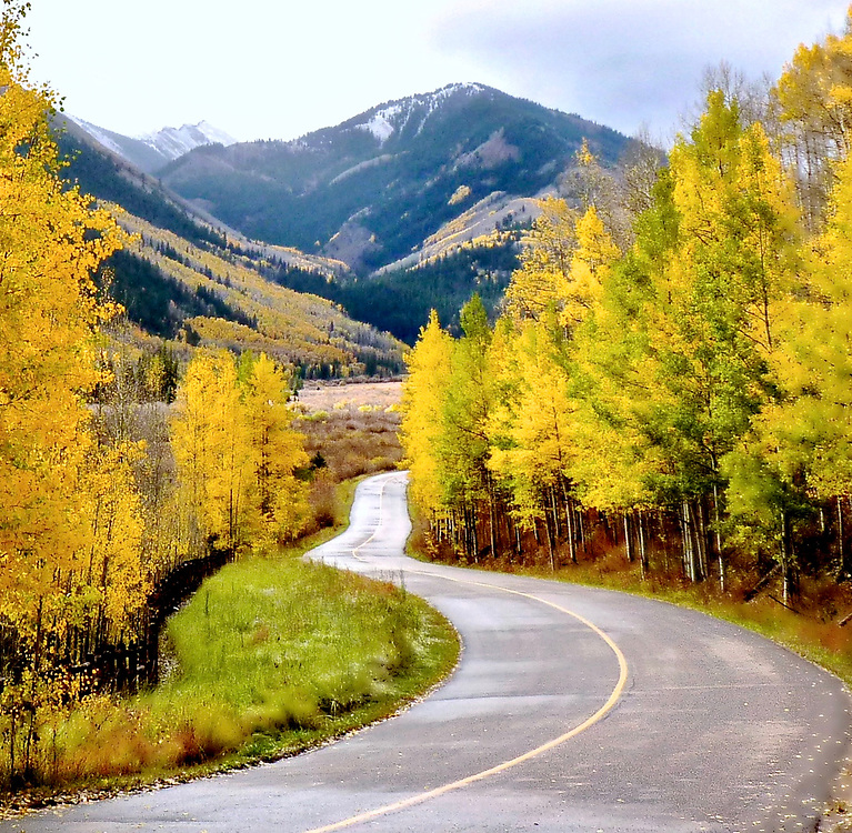 Autumn in the Rocky Mountains of Colorado is beautiful.  We're often in Aspen at this time of year exploring the backroads and making photographs.