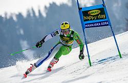 HADALIN Stefan of Slovenia competes during the Audi FIS Alpine Ski World Cup Men's Giant Slalom 58th Vitranc Cup 2019 on March 9, 2019 in Podkoren, Kranjska Gora, Slovenia. Photo by Matic Ritonja / Sportida