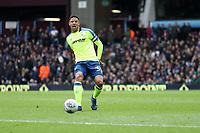 Aston Villa v Derby County - Sky Bet Championship<br /> BIRMINGHAM, ENGLAND - APRIL 28 :  curtis Davies, of Derby County, plays the ball forward