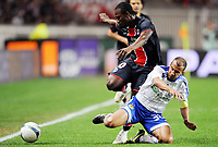 Fotball<br /> Frankrike<br /> Foto: DPPI/Digitalsport<br /> NORWAY ONLY<br /> <br /> FOOTBALL - UEFA CUP 2008/2009 - 1/4 FINAL - 1ST LEG - 09/04/2009 - PARIS SG v DYNAMO KIEV - STEPHANE SESSEGNON (PSG) / BADR EL KADDOURI (KIEV)