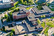 Nederland, Flevoland, Lelystad, 07-05-2018; Lelystad, IJsselmeerziekenhuis, MC Zuiderzee.<br /> Lelystad, general hospital.<br /> <br /> luchtfoto (toeslag op standard tarieven);<br /> aerial photo (additional fee required);<br /> copyright foto/photo Siebe Swart