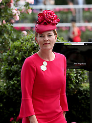Autumn Phillips during day five of Royal Ascot at Ascot Racecourse.