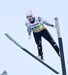 03.01.2012, Olympiaschanze/ Bergisel Stadion, AUT, 60. Vierschanzentournee, FIS Weltcup, Qualifikation, Ski Springen, im Bild David Zauner (AUT) // David Zauner of Austria  during qualification at the 60th Four-Hills-Tournament of FIS World Cup Ski Jumping at Olympiaschanze / Bergisel Stadion, Austria on 2012/01/03. EXPA Pictures © 2012, PhotoCredit: EXPA/ P.Rinderer