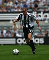 Photo: Andrew Unwin.<br />Newcastle United v PSV Eindhoven. Pre Season Friendly. 29/07/2006.<br />Newcastle's Peter Ramage.