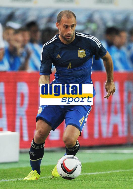 Fotball<br /> Tyskland v Argentina<br /> Privatlandskamp<br /> 03.09.2014<br /> Foto: Witters/Digitalsport<br /> NORWAY ONLY<br /> <br /> Pablo Zabaleta (Argentinien)<br /> Fussball, Testspiel, Deutschland - Argentinien 2:4