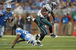 DETROIT - SEPTEMBER 19: of the Philadelphia Eagles during the game against the Detroit Lions on September 19, 2010 at Ford Field in Detroit, Michigan. The Eagles won 35-32. (Photo by Drew Hallowell/Getty Images)  *** Local Caption ***
