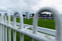 A general view of Bath Racecourse  - Mandatory by-line: Ryan Hiscott/JMP - 24/08/20 - HORSE RACING - Bath Racecourse - Bath, England - Bath Races