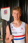 Caversham, Great Britain,  Joel COOPER, Junior Training Camp,at the Redgrave Pinsent Rowing Lake. GB Rowing Training centre. Thursday  01/08/2013c  [Mandatory Credit. Peter Spurrier/Intersport Images]