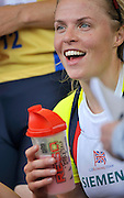 Lucerne, SWITZERLAND.  Anna WATKINS GBR W2X.  2012 FISA World Cup II, Lucerne Regatta.  Rotsee  Rowing Course, Sunday  27/05/2012  [Mandatory Credit Peter Spurrier/ Intersport Images]..