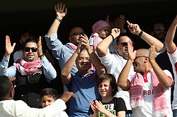 AL AIN, Jan. 6, 2019  Fans react ahead of the match between Jordan and Australia of the AFC Asian Cup UAE 2019 in Al Ain, the United Arab Emirates (UAE), on Jan. 6, 2019. (Credit Image: © Lg/Xinhua via ZUMA Wire)