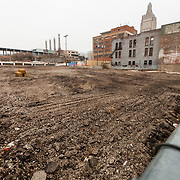 Site for construction of Marriott Courtyard Hotel
