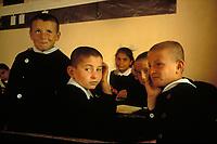 First graders in Goreme Turkey