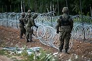 Rozpoczęła się budowa płotu z drutu kolczastego na granicy z Białorusią -25.08.2021