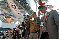 D-Day Veterans receive the French Legion of Honor at The 70th Anniversary of D-Day ceremony at the National World War II Museum in New Orleans, LA.