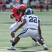 Davidson takes on San Diego in PFL conference football action at Smith Field at Richardson Stadium  on Saturday, October 12, 2019 in Davidson, North Carolina.