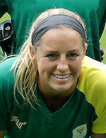Fifa Woman's Tournament - Olympic Games Rio 2016 -  <br /> South Africa National Team - <br /> Stephanie MALHERBE