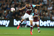 Jonathan Calleri of West Ham United in action. EFL Cup, 3rd round match, West Ham Utd v Accrington Stanley at the London Stadium, Queen Elizabeth Olympic Park in London on Wednesday 21st September 2016.<br /> pic by John Patrick Fletcher, Andrew Orchard sports photography.
