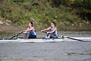 Crew: 91 - Lewis / Steedman - Barnes Bridge Ladies Rowing Club - W 2- Club <br /> <br /> Pairs Head 2020