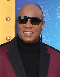 Stevie Wonder, Universal Pictures film premiere for Sing at LA Live (Los Angeles, CA.)